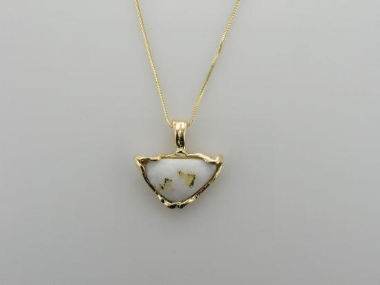 Image sur Pendentif quartz aurifère